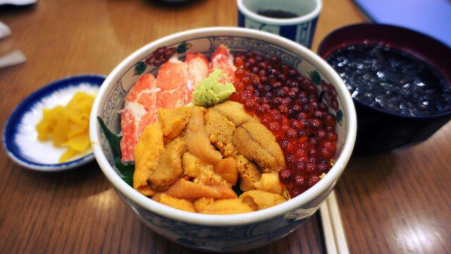 髭だるまのランチ・海鮮丼の画像